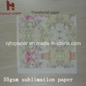 Inexpensive Price 55GSM Sublimation Heat Transfer Paper for Digital Textile Printing pictures & photos