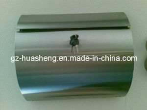 Arc-Shaped Stainless Steel Mailbox with Lock and Key (HS-MB-007) pictures & photos