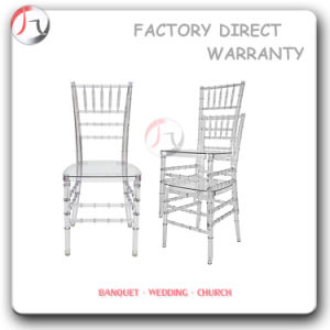 Modern Clear Plastic Stackable Resin Chiavari Chair (RT-01-1) pictures & photos