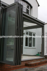 Aluminum Glass Door Window Comply with AS/NZS2208 pictures & photos