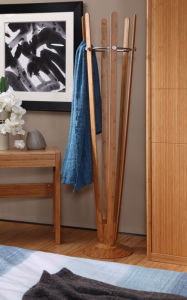 Bamboo Hat and Coat Stand / Clothes Stand for Bedroom Furniture pictures & photos