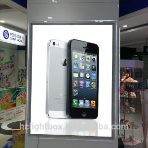High Brightness Crystal Board LED Light Box Sign in Side China Manufaturer OEM pictures & photos