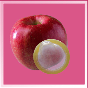 Disposable Flavor Condom (Apple smell) pictures & photos