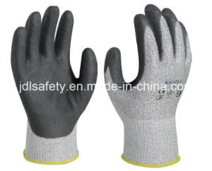 Cut Resistant Work Glove with Sandy Nitrile Coating (NDS8032) pictures & photos