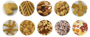 Jinan City Making Chocolate Filled Core Filling Pop Puffed Corn Snack Food Corn Chips Machine pictures & photos