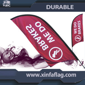 110g 100% Polyester Custom Outdooor Advertising Feather Flag Banner pictures & photos