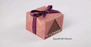 Beauty Paper Gift jewelry Packing Boxes with Silk Ribbon pictures & photos
