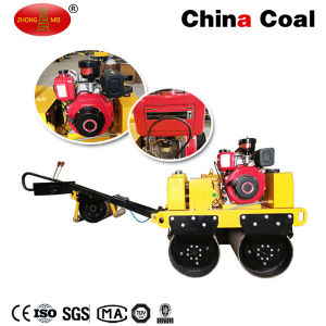 Construction Machine Walking Behind Vibratory Roller pictures & photos