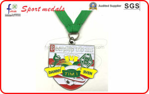 High Quality Soft Enamel Antique Brass Pated Medals Sport Medals pictures & photos