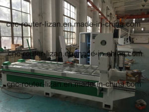 CNC Woodworking Machinery Tool with Unloading System pictures & photos