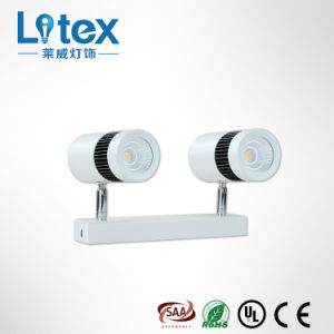 2*6W Aluminum Pkw LED Spot Wall Light with TUV Certification for Multiple Occasion (LX135/2*6W)