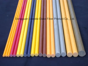 Superior Dimensional Stability GRP Fiberglass FRP Rod/Bar pictures & photos