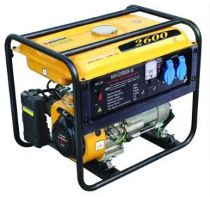 CE Approval 2kw 5.5HP Gasoline Generator Set (WH2600-X) pictures & photos