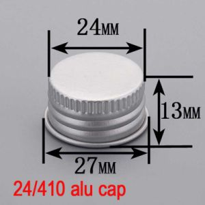 24mm Aluminium Screw Bottle Top Round Lid/Cover/Cap for Cosmetic pictures & photos