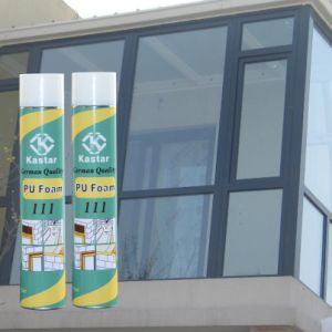 Good Cheap Spraying Mounting Polyurethane Foam (Kastar 555) pictures & photos