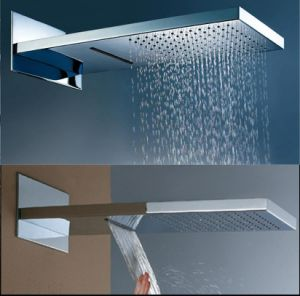 Waterfall and Rainfall Shower Head pictures & photos