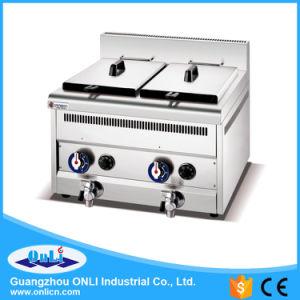 Constant Temperature 2-Tank Gas Fryer pictures & photos