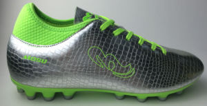 B16672 PU Football Shoe with Spandex Sock pictures & photos