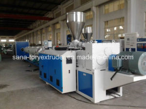 Plastic Extrusion Machinery for 16-630mm PVC Pipe Production Line pictures & photos