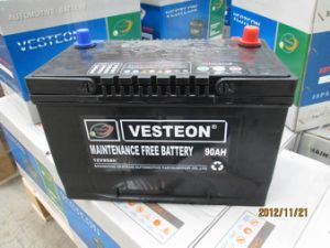 12V Maintenance DIN100 Free Lead Acid Car Battery pictures & photos