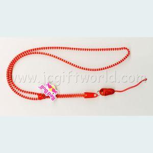 Custom Plastic Zipper Lanyard for Promotion