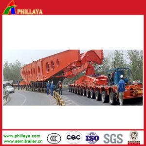 12axis Modular Lowboy Self-Propelled Heavy Duty Transporter pictures & photos