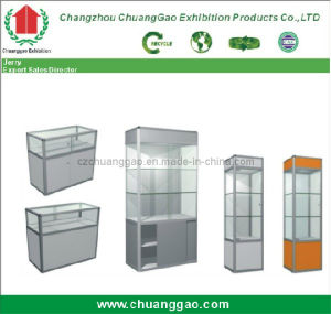 Exhibition Glass Showcase pictures & photos