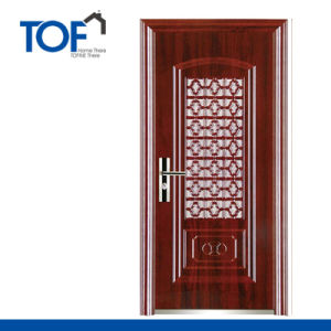 Decorated High Quality Security Steel Door