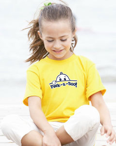 Cotton Kid′s T-Shirt Within Flocks Transfer Printings pictures & photos