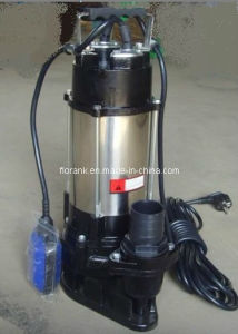 Submersible Sewage Pump (V180, 250, 450, 750) with Good Quality pictures & photos