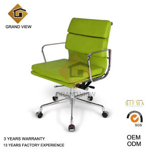 Leather Classical Swivel Aluminium Eames Manager Hotel Office Boss Chair (GV-EA217) pictures & photos