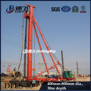 High Efficiency 30m Deep Dfls-30 Hydraulic Auger Pile Driver Drilling Machine pictures & photos