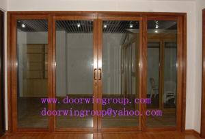 Aluminum Sliding Patio Door, Elegant Thermal Break Aluminum Sliding Patio Door, Heavy Aluminum Sheet Glass Patio Door pictures & photos