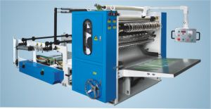 China-Made High Quality Facial Tissue Paper Hand Towel V Folding Machine pictures & photos