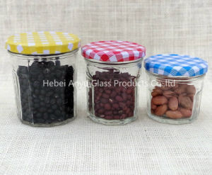 Small Size 50ml Clear Glass Mason Jar / Jelly Jar / Jam Jar with Screw Lid