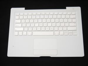 "White Keyboard Topcase with Touchpad Trackpad C/W for Apple MacBook 13"" A1181"