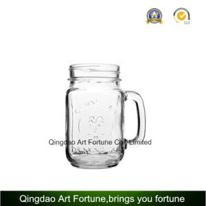 Printed Glass Mason Jar Candle for Home Decoration pictures & photos