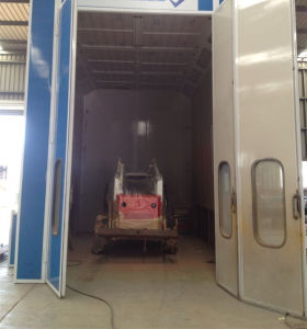 Italy Standard Car Paint Booth Wld8200 pictures & photos