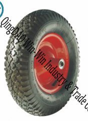 "Pneumatic Rubber Wheel for Wheelbarrow Air Wheels (16""X 480/4.00-8) pictures & photos"
