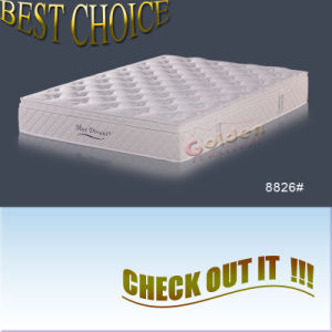 Memory Foam Pillow Top Mattress (8826) pictures & photos