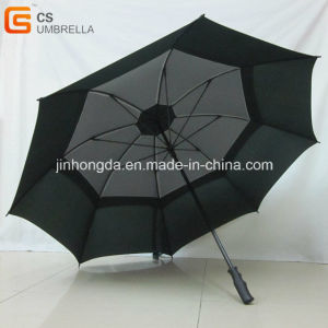 Double Layer Golf Umbrella with Mesh Insert Jhdg0002 pictures & photos