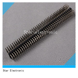 2.54mm Triple Row Pin Header Right Angle pictures & photos