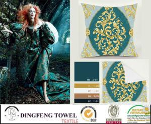 2016 Hot Sales New Design Velvet Cushion Cover Df-9828 pictures & photos
