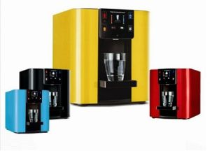 Colorful Tabletop Point-of-Use Hot and Cold Water Dispenser