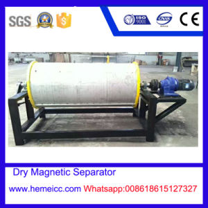 Wet and Dry Permanent Drum Magnetic Separator for The Mineral Plant, You Can Get Any Magnetic Separator You Need From Us pictures & photos