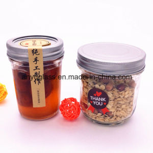 Wholesale Glass Pickle Jar with Screw Metal Lid for Preserve, Storage pictures & photos