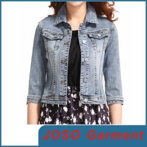Denim Girl Jean Jackets (JC4010) pictures & photos