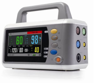 17 Inch Modular Multi-Parameter Patient Monitor, ECG EKG Monitor, Touch Screen Handheld Vital Signs 12-Leads ECG Monitor, IBP Monitor (SC-C90) pictures & photos