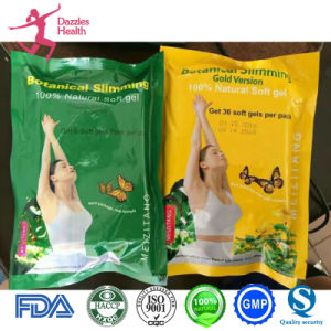 100% Natural Soft Gels Slimming Meizit Gold Weight Loss Capsules for Female pictures & photos