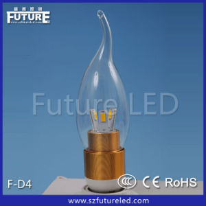 Warm White 6000k LED Light Candle Lamp (CE RoHS) pictures & photos